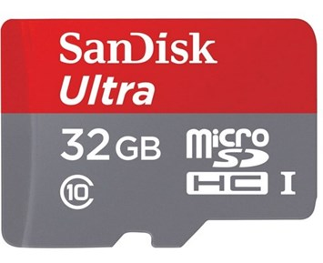 SanDisk MicroSDHC Ultra 32GB 80MB/s UH