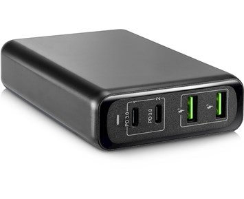 Andersson Dual USB-C PD charger 100W Black