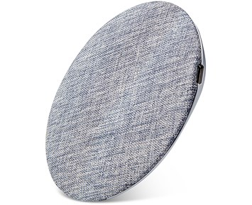 Andersson Wireless charger Fabric 15W Grey