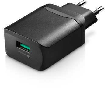 Andersson Wall charger 18 W 1-Port 3A QC 3.0 Black