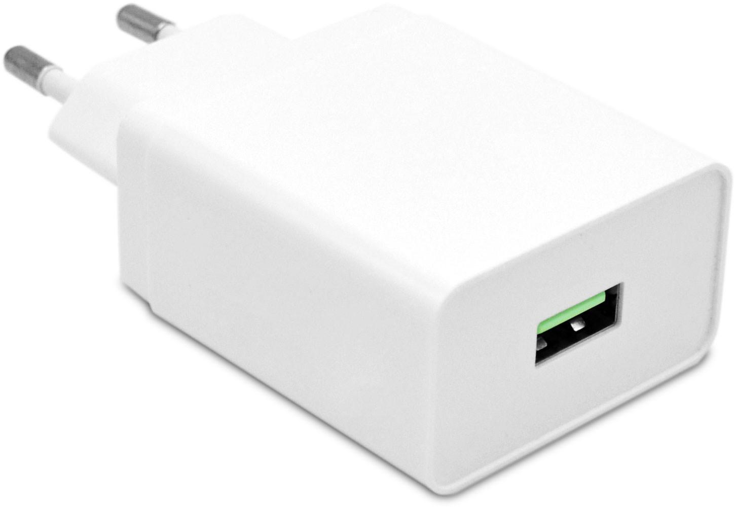 USB väggladdare med stöd för snabbladdning