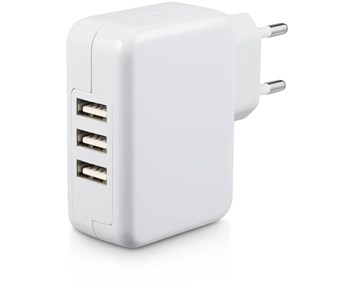 Andersson Wall Charger USB 3-port 4.8A White