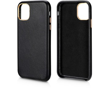 Andersson Genuine Leather Case Black for Apple iPhone 11