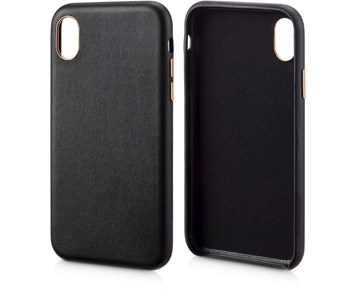 Andersson Genuine Leather Case Black for Apple iPhone XR
