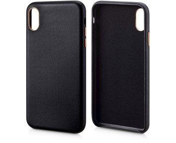 Andersson Genuine Leather Case Black for Apple iPhone XS Max