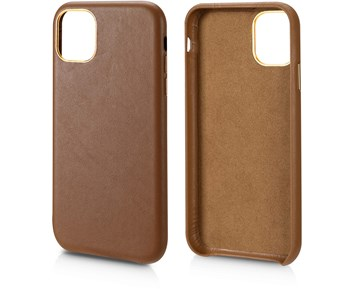 Andersson Genuine Leather Case Brown for Apple iPhone 11