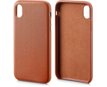 Andersson Genuine Leather Case Brown for Apple iPhone XR