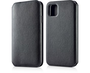 Andersson Leather Flip Wallet Black for Apple iPhone 11 Pro