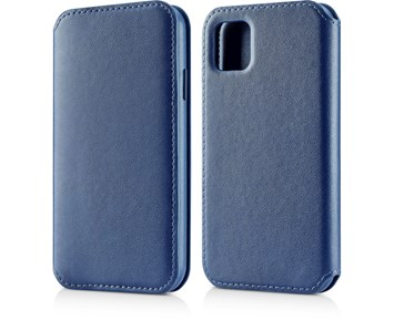 Andersson Leather Flip Wallet Blue for Apple iPhone 11 Pro Max
