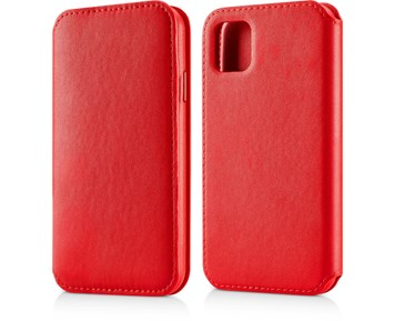 Andersson Leather Flip Wallet Red for Apple iPhone 11 Pro