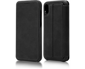 Andersson Premium Flip Wallet Case Black for Apple iPhone XR