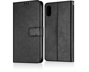 Andersson Premium Wallet Case Black for iPhone XR