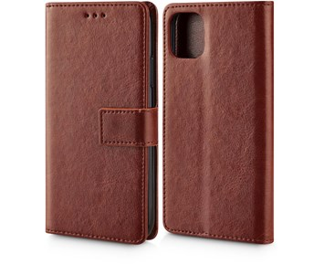 Andersson Premium Wallet Case Brown for Apple iPhone 11