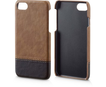Andersson PU Leather Case Light brown/Dark brown for Apple iPhone 7/8