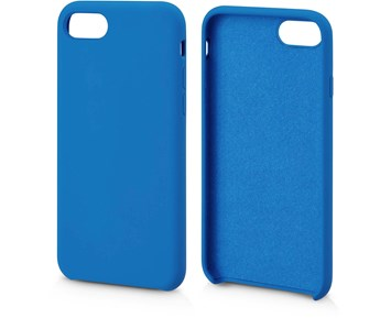 Andersson Silicone Case w/ Microfiber Blue for iPhone 7/8