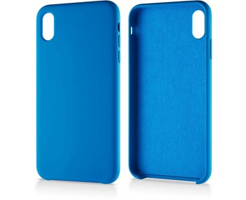 Andersson Silicone Case w/ Microfiber Blue for Apple iPhone XS Max