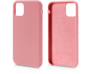 Andersson Silicone Case w/ Microfiber Pink for Apple iPhone 11