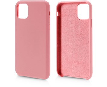 Andersson Silicone Case w/ Microfiber Pink for Apple iPhone 11 Pro