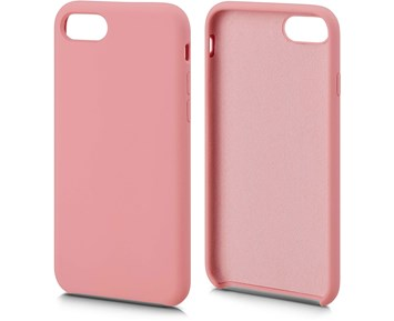 Andersson Silicone Case w/ Microfiber Pink for Apple iPhone 7/8