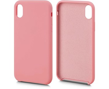 Andersson Silicone Case w/ Microfiber Pink for Apple iPhone XR