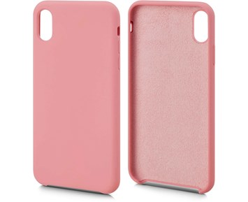 Andersson Silicone Case w/ Microfiber Pink for Apple iPhone XS Max