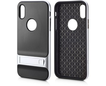 Andersson Soft Case w/ Silver edge for Apple iPhone X/XS