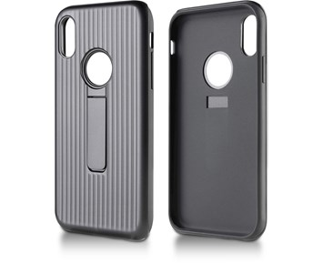 Andersson Strong Hard Case w/ Stand Black for Apple iPhone XR