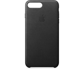 Apple iPhone 7 Plus Leather Case Bk