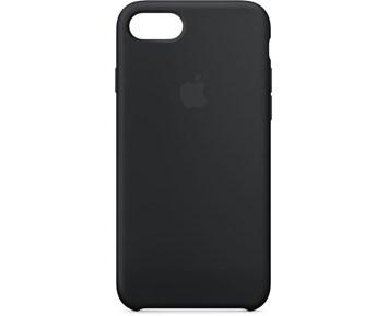 Apple iPhone 7/8/SE Silicone Case Black