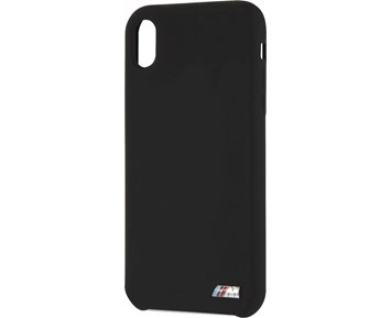 BMW M Silicone Hard Case Black for Apple iPhone XR
