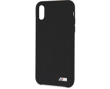 BMW M Silicone Hard Case Black for iPhone X/XS