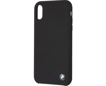 BMW Silicone Hard Case Black for Apple iPhone XR