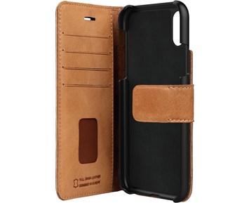 Bugatti Booklet Case Zurigo iPhone X Cognac - Plånboksfodral i äkta ... aa5675ced3ef0