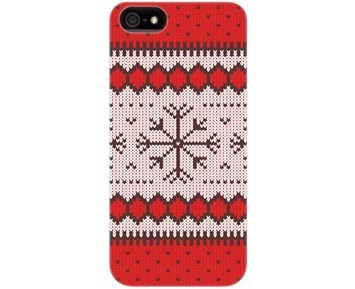 Flavr Ugly Xmas iPhone 5/5s/SE Red