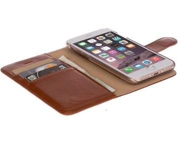 Krusell Ekerö FolioWallet 2in1 iPhone 7 Cognac