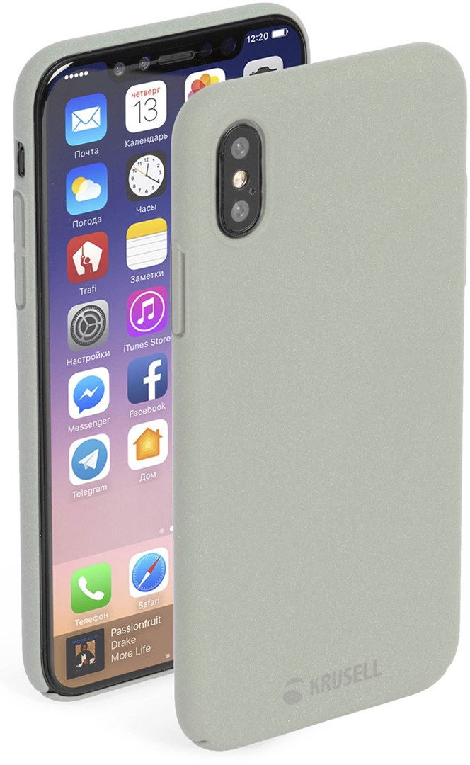 Krusell Sandby Cover iPhone 8 Sand 9e8683ad247ce