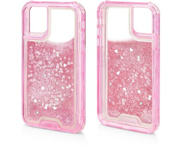 Limited Label Soft Case Pink Glitter for Apple iPhone 11