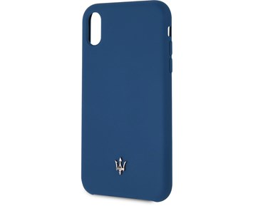 Maserati Silicone Case Navy for Apple iPhone XR