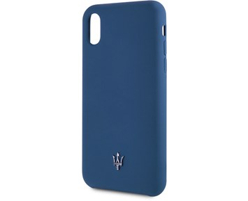 Maserati Silicone Case Navy for Apple iPhone X/XS