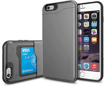 spigen slim armor cs iphone 6 6s gr stötsäkert mobilskal med korthållare  till 5b3f0e4008a1c