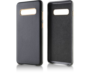 Andersson Genuine Leather Case Black for Samsung Galaxy S10