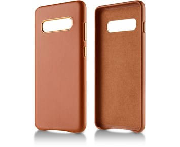Andersson Genuine Leather Case Brown for Samsung Galaxy S10