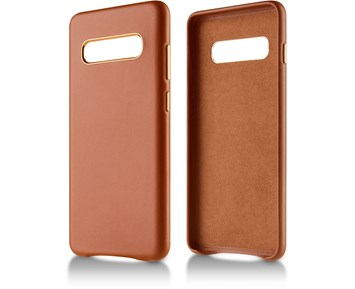 Andersson Genuine Leather Case Brown for Samsung Galaxy S10 Plus