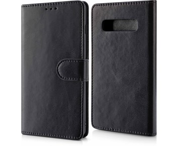 Andersson Magnetic Wallet Case Black for Samsung S10 Plus