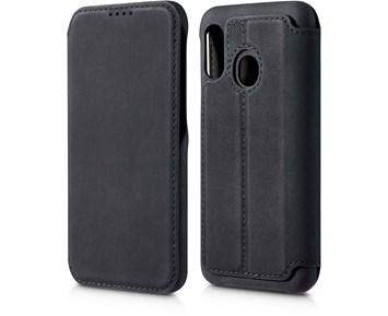 Andersson Premium Flip Wallet Case Black for Samsung Galaxy A40