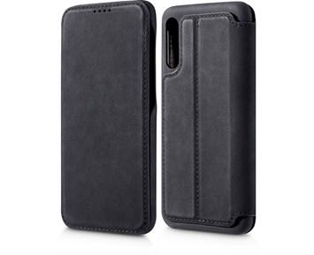 Andersson Premium Flip Wallet Case Black for Samsung Galaxy A50