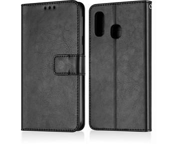 Andersson Premium Wallet Case Black for Samsung A40