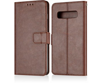 Andersson Premium Wallet Case Brown for Samsung Galaxy S10