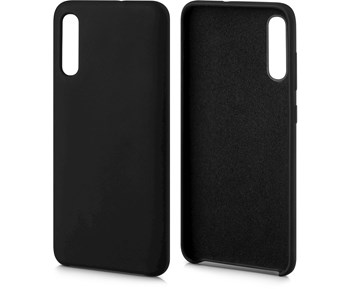Andersson Silicone Case w/ Microfiber Black for Samsung Galaxy A70