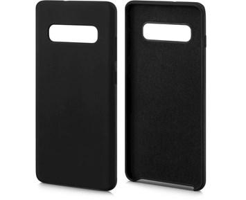 Andersson Silicone Case w/ Microfiber Black for Samsung Galaxy S10 Plus